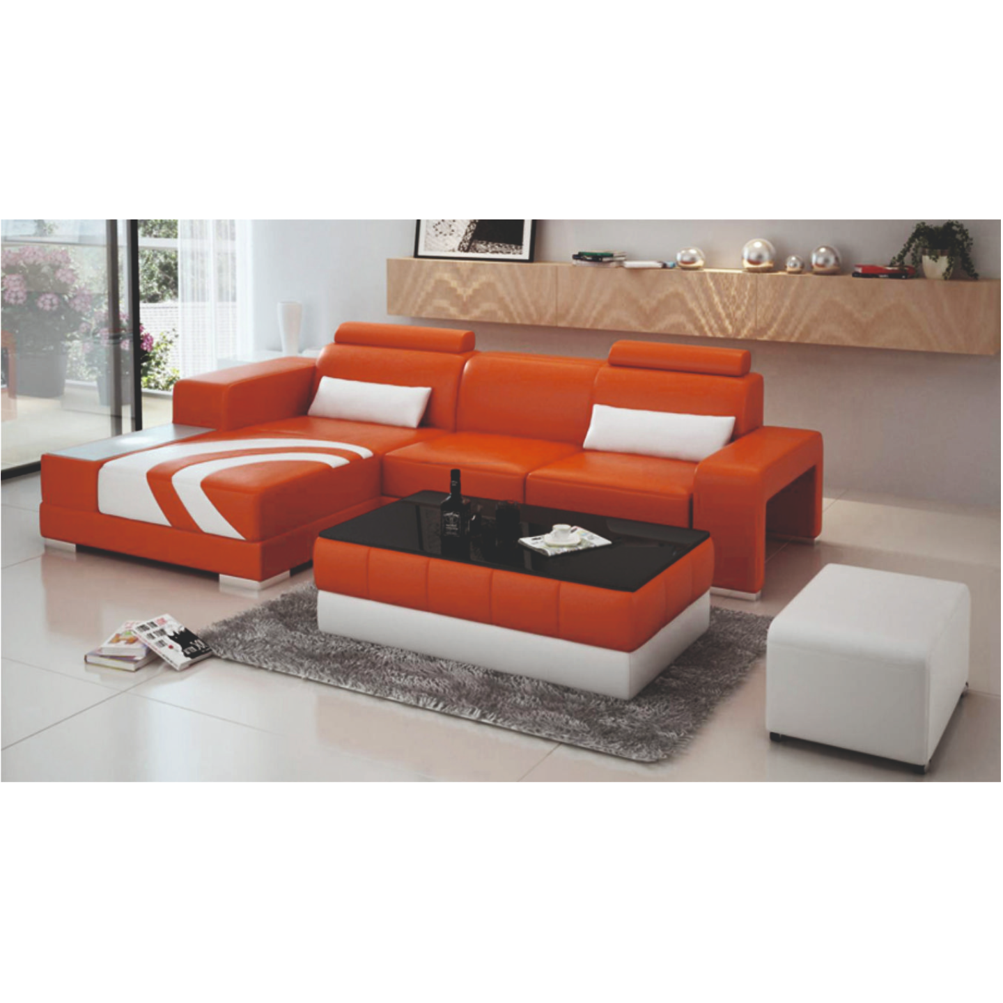 Reva Left side Lounger Sofa (FC55)