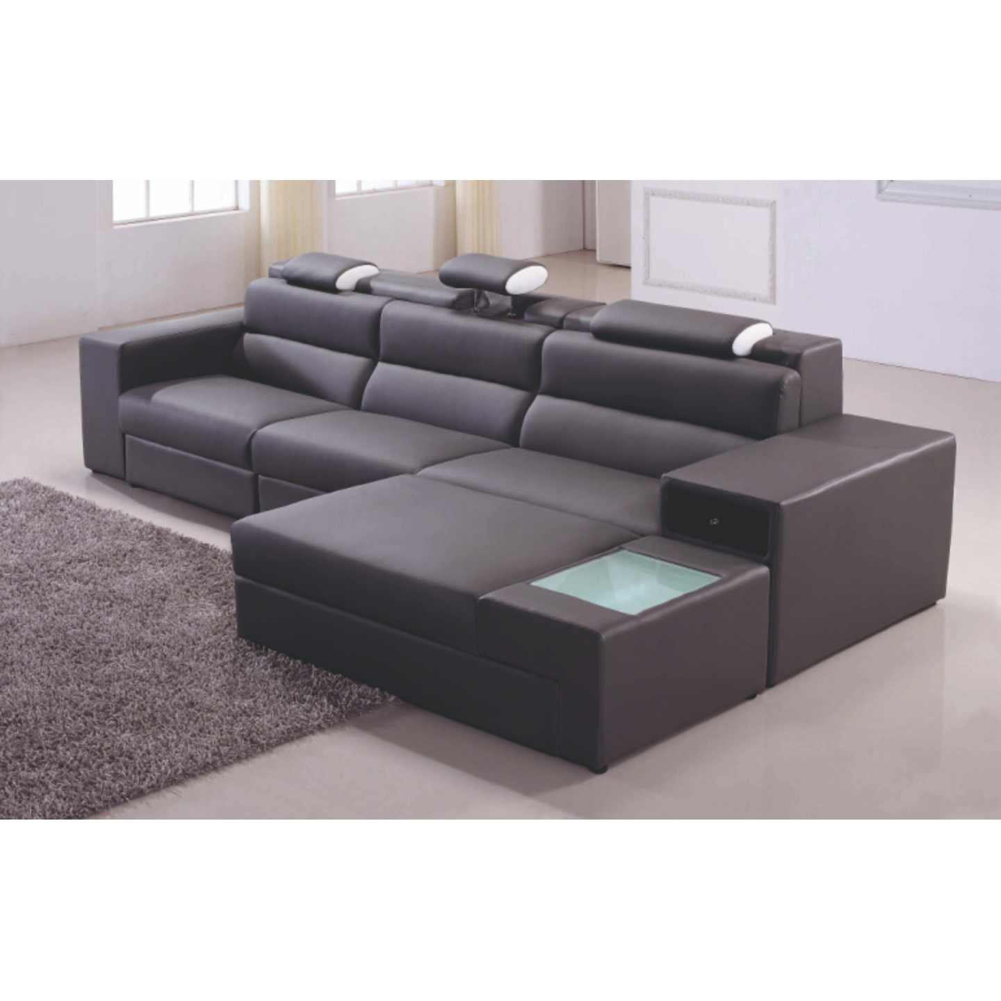 Orion Left Side Lounger Sofa (FC47)