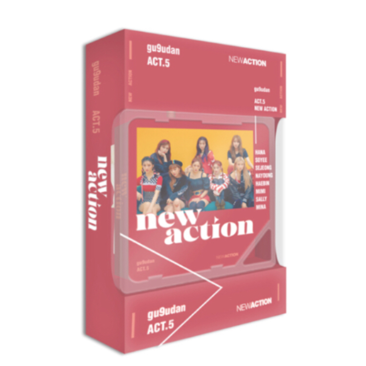 Gugudan - Mini Album Vol.3 [Act.5 New Action] (Kihno Album)