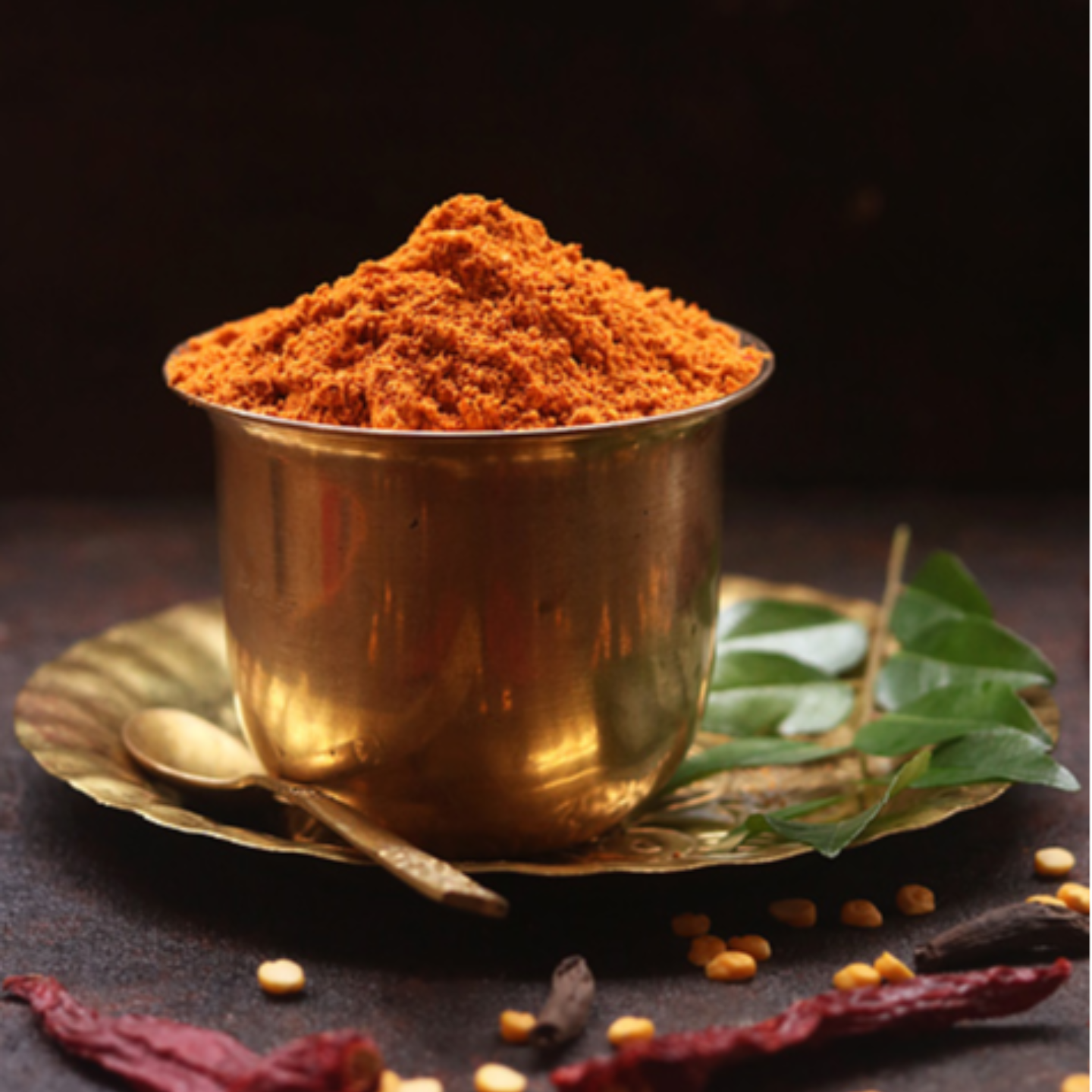 SAMBAR & CURRY Powder - 100 Gms Glass Bottle