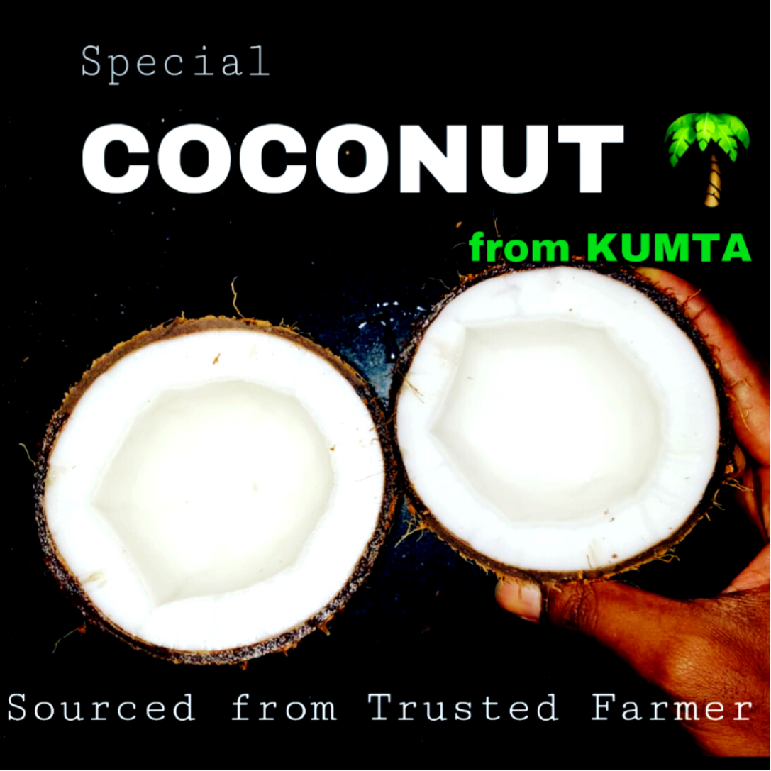 COCONUT from Kumta - 3 Pieces