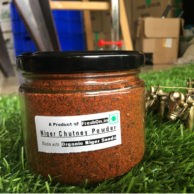 NIGER CHUTNEY Powder - ಉಚಚೆಳಳು ಚಟನಿ ಪುಡಿ 100 Gms