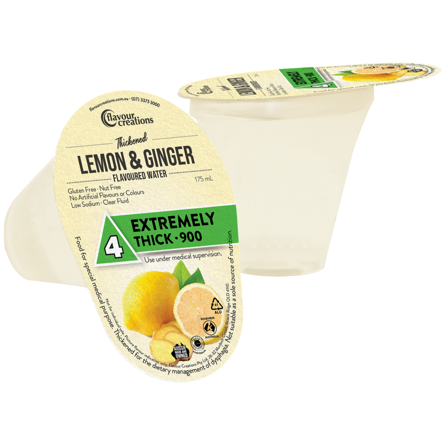 Lemon & Ginger Water Level 4 Extremely Thick 900