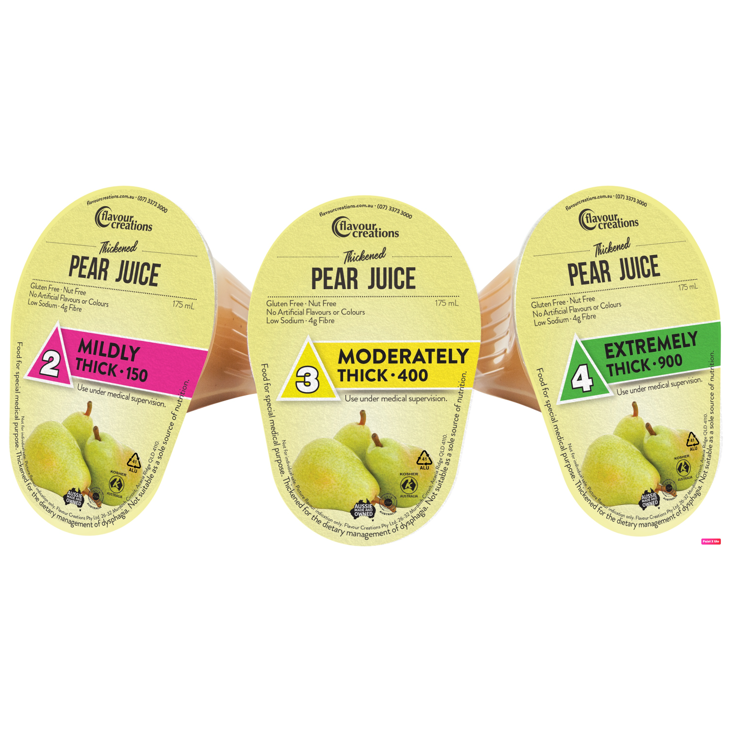 Pear Juice Level 3 Moderately Thick 400