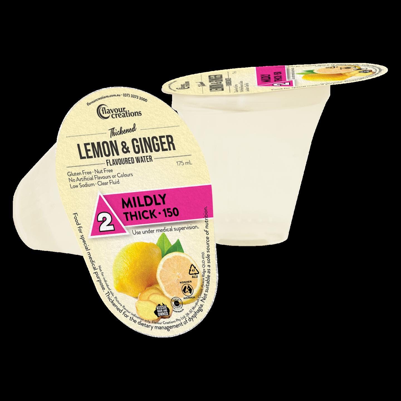 Lemon & Ginger Water Level Level 2 Mildly Thick 150