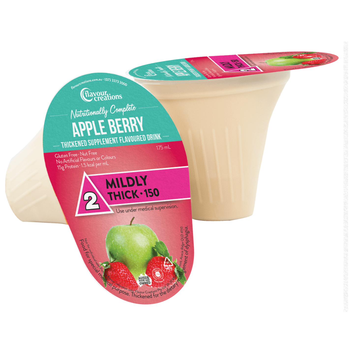 Nutritionally Complete Apple Berry Level 2 Mildly Thick 150
