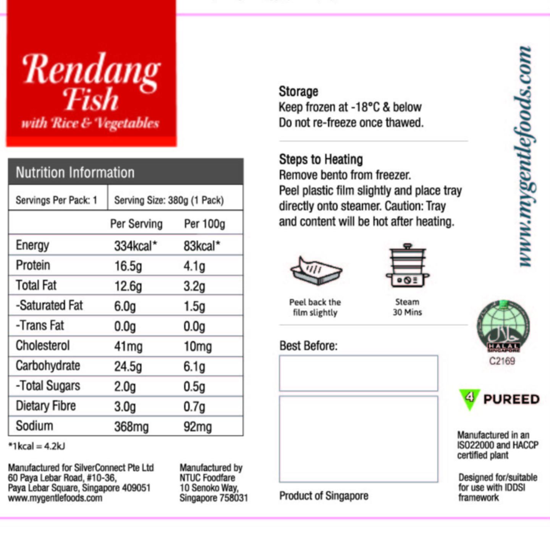 Rendang Fish Rice