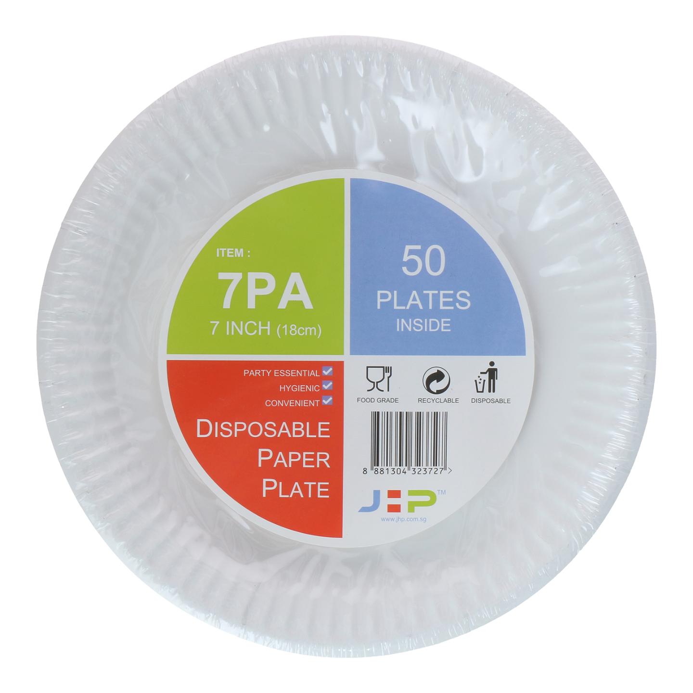 7 7PA Paper Plate 纸盘