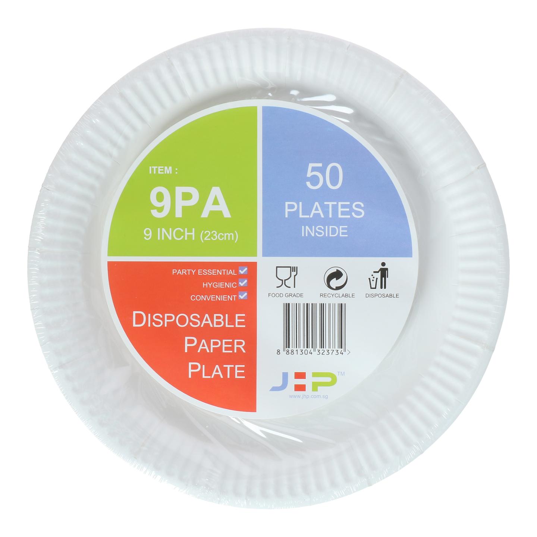 9 9PA Paper Plate 纸盘