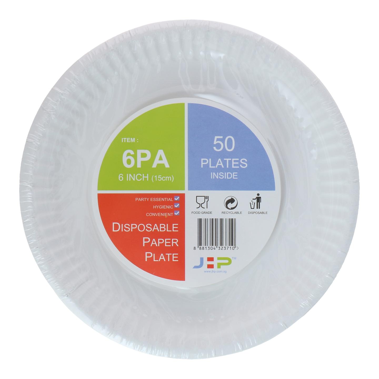 6 6PA Paper Plate 纸盘