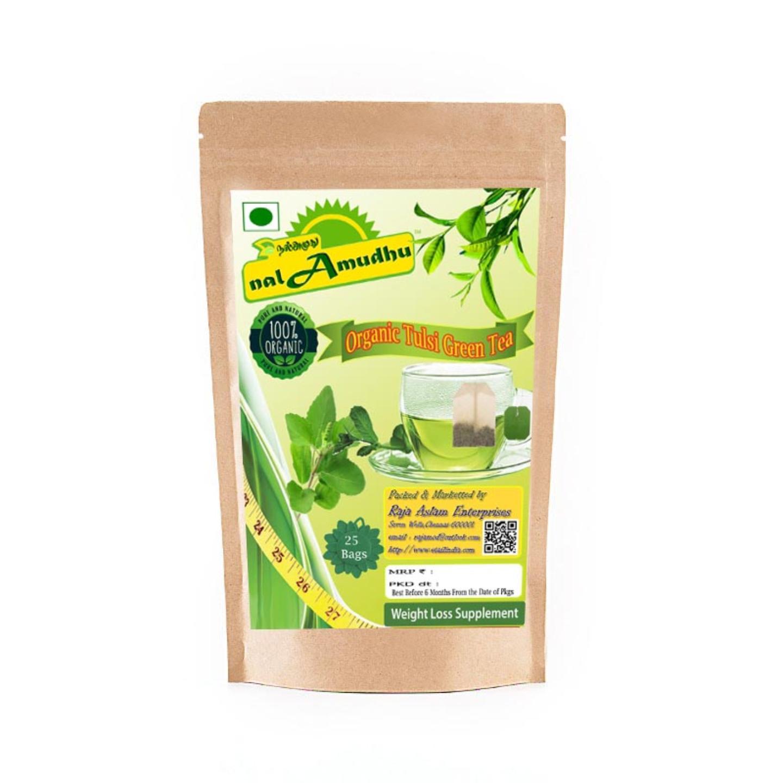 nalAmudhu Organic Nilgiri Green Tea Bags 25s