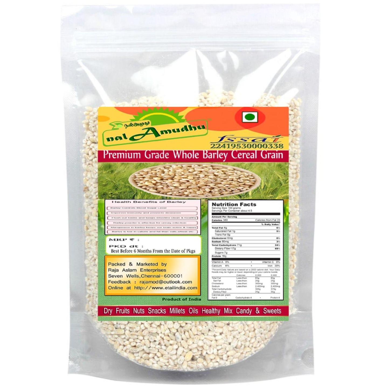 nalAmudhu Whole Pearl Barley Cereal Grain