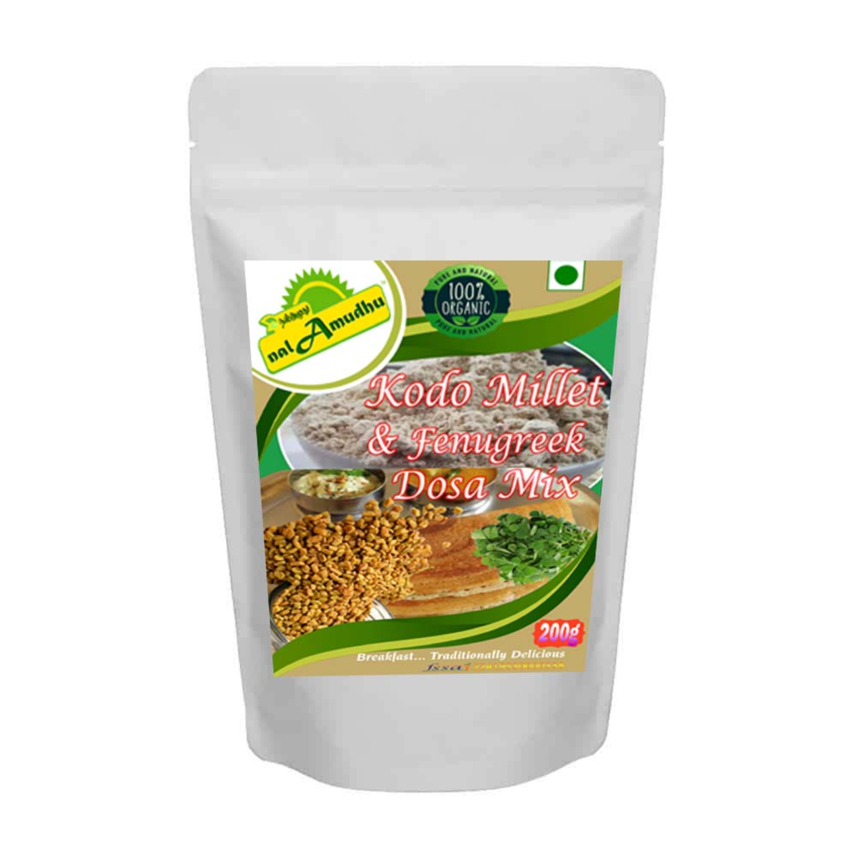 nalAmudhu Organic Kodo Millet Fenugreek Dosa Mix  Varagu Vendaya Dosa Mix