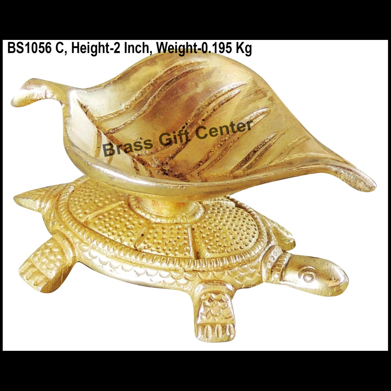 Brass Kachua Deepak 200 Gm - 4*2.5*2 Inch  (BS1056 C)