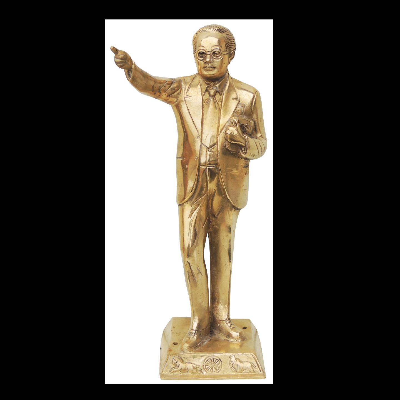 Brass Ambedkar Idol Staute Murti - 4.5*4*14 Inch  (BS533 A)
