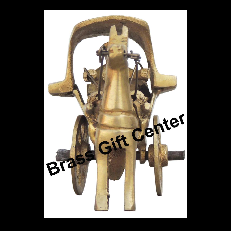 Brass Horse Cart - 3.81.82.3 Inch BS258