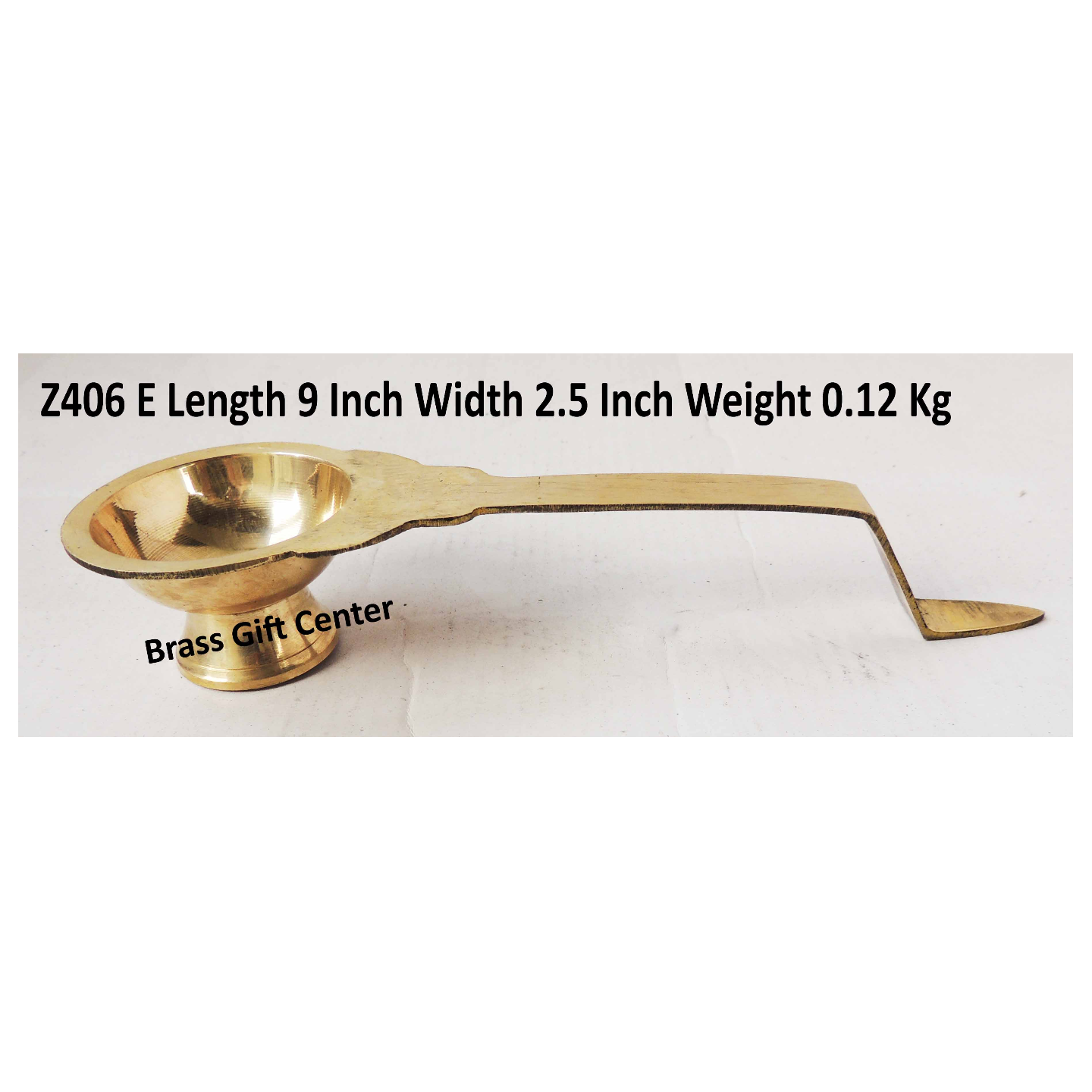 Brass Temple Kalash - 9.5 Inch (Z406 E)
