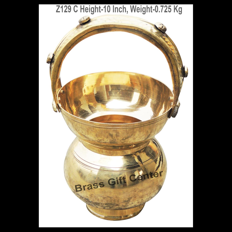 Brass Kamandal - 5.3*5.3*10 Inch  (Z129 C)