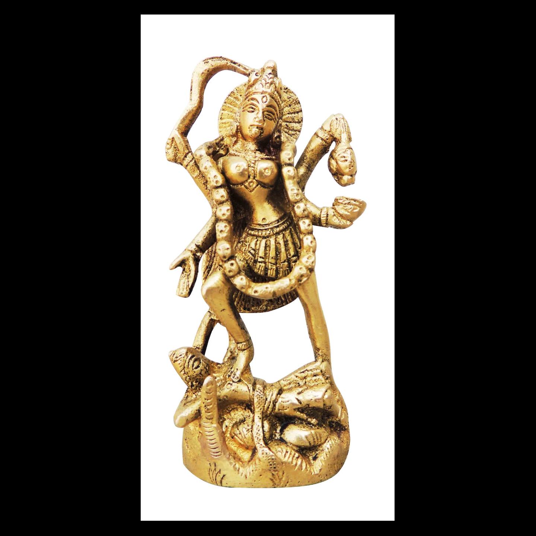 Kali Mata Statue/Murti/Idol - 4.6 inc (BS954 B)