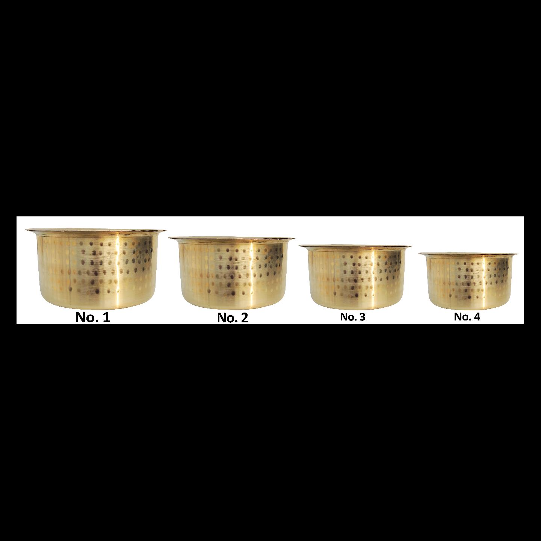 Pure Brass Bhagona Set of 4 Pcs. Z479 C