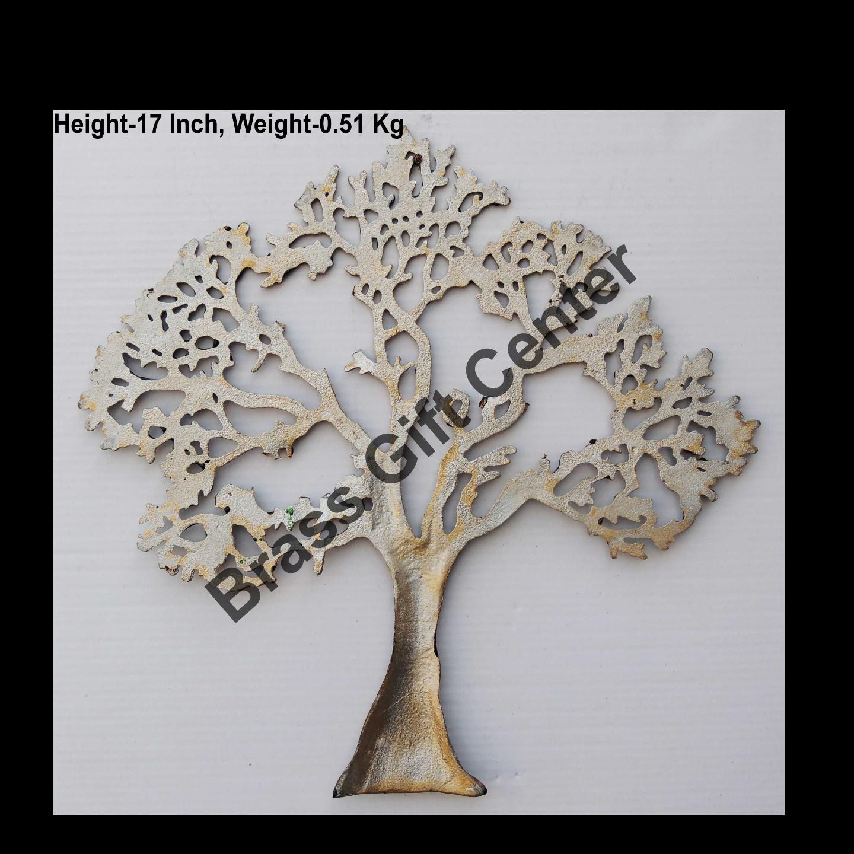 Wall Decorative Aluminium Tree - 17.3 Inch  Z123 C