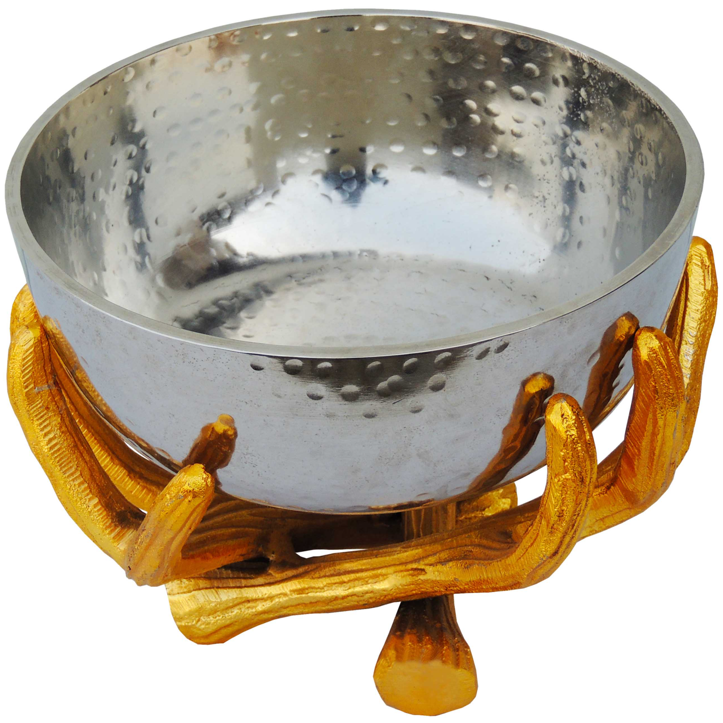 Decorative Panja Shape Bowl, Height 6.5 Inch (A3192/9)