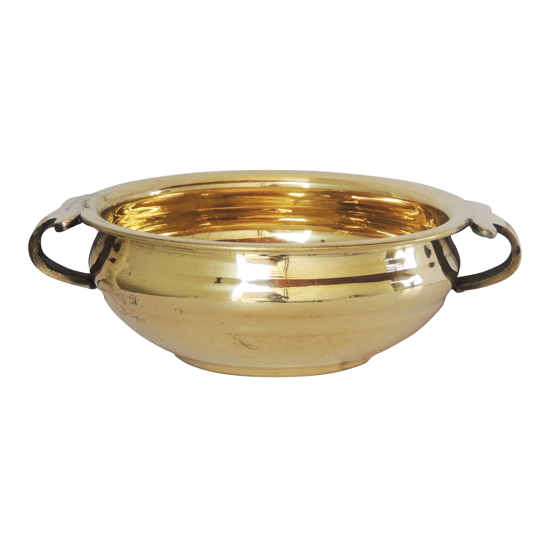 Brass Urli 2 Liter Diameter 6.3 Inch (F594 B)