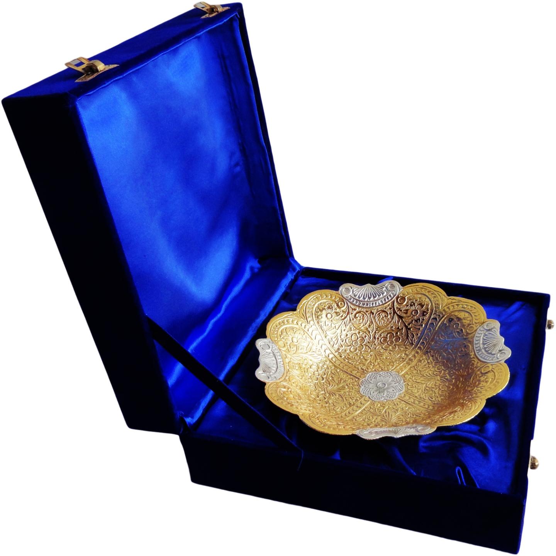 Brass Bowl With Brass Finish - 7.5 Inch (B060)