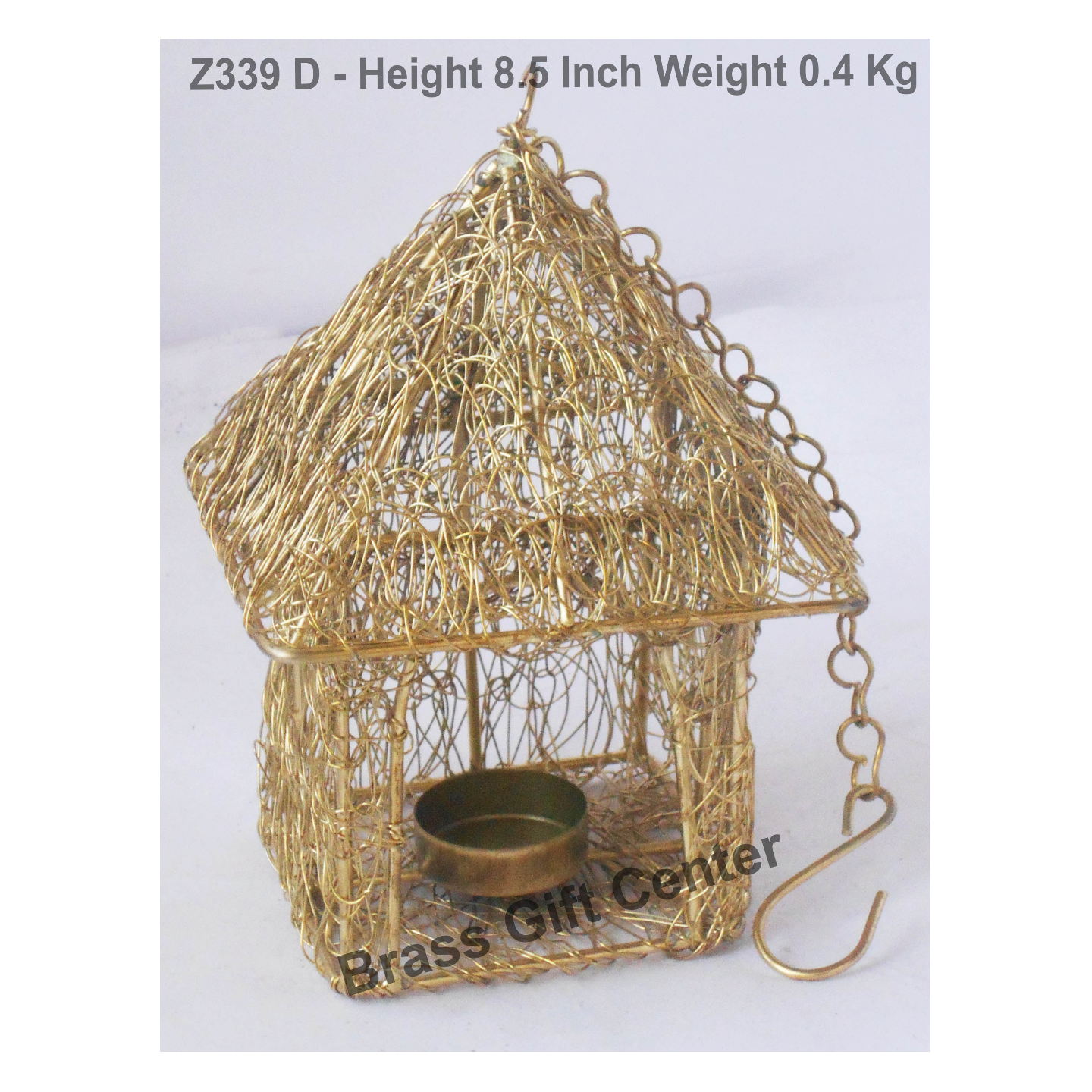 Tea Light Holder - 5.2*5.2*8.5 Inch (Z339 D)
