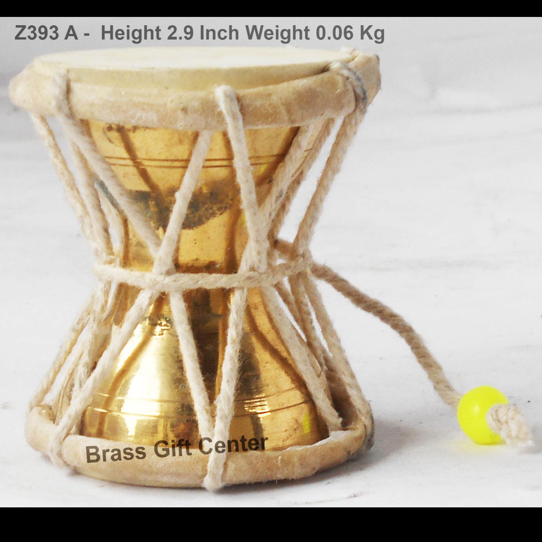Shivji Damru No. 0 - 2.3x2.3x2.9 inch (Z393 A)