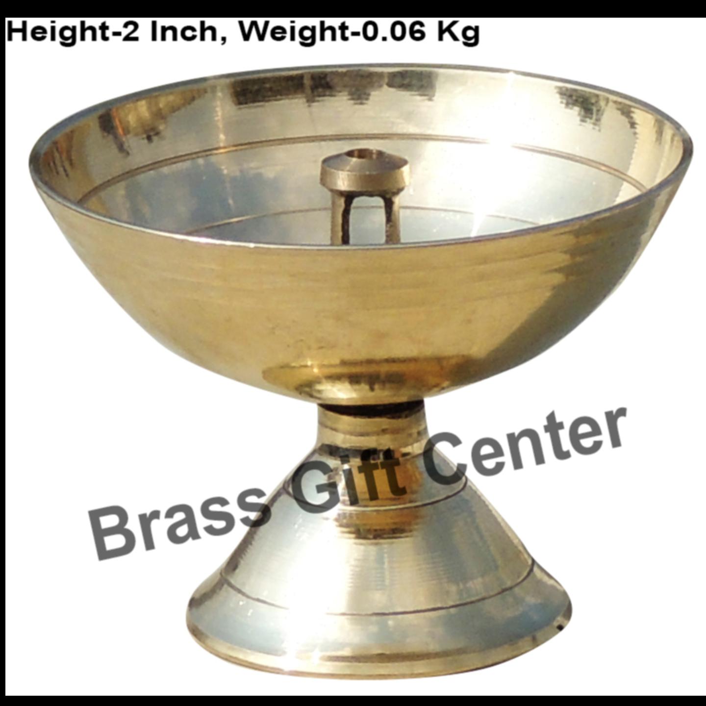 Brass Piyali Deepak Diya - 2.62.62 inch F645 E