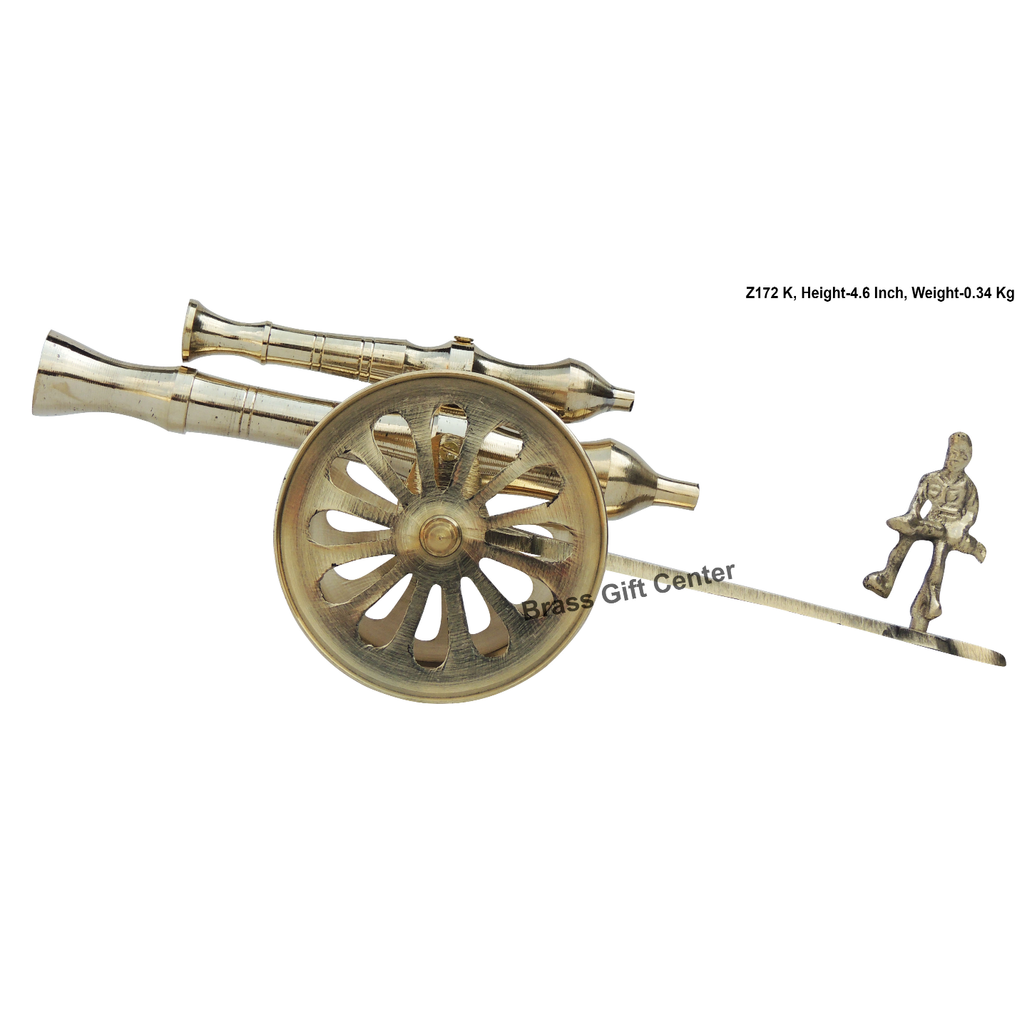 Brass Small Toop Cannon No 12 - 10.83.64.6 Inch  Z172 K