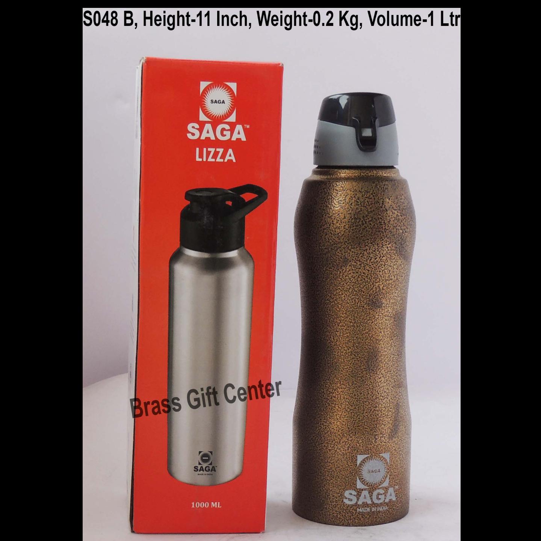 Slipper Lid Bottle 1000 ml Brown Colour S048 B