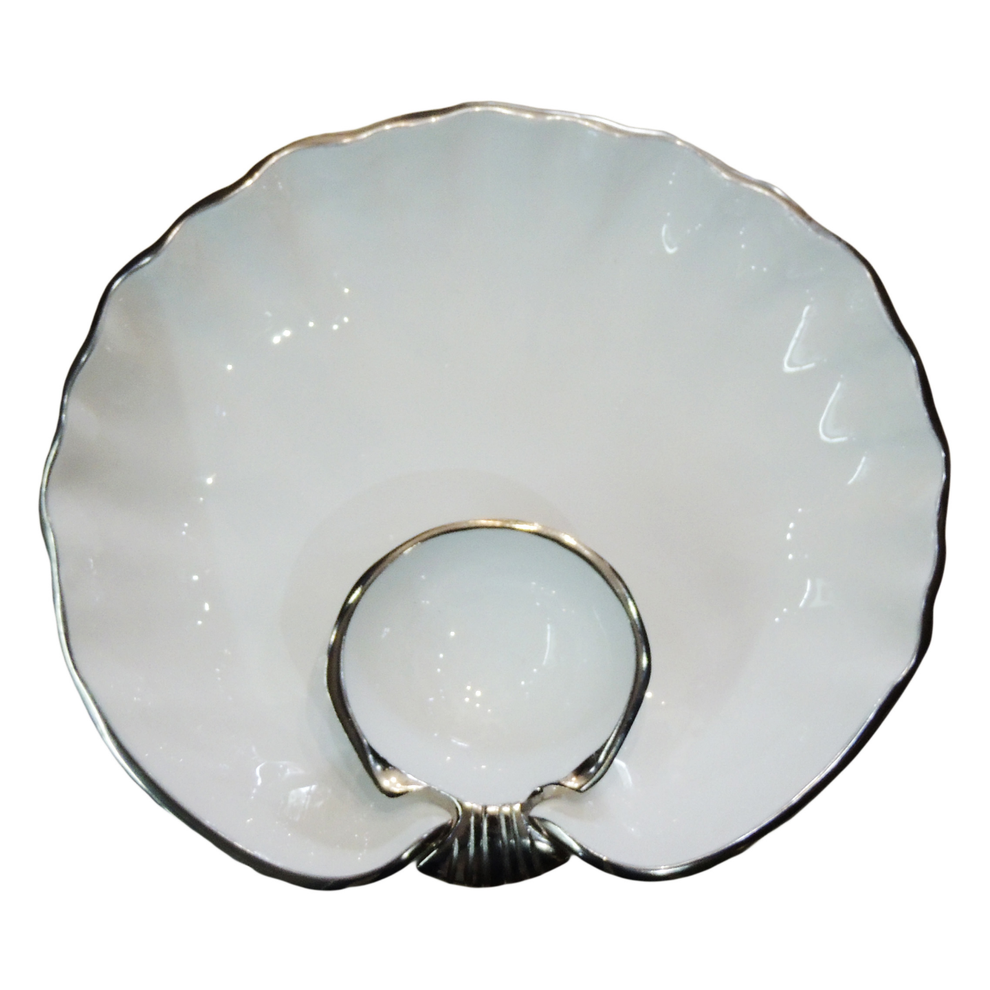 Decorative Round Shape Tray Platter - 11.5 Inch (A3189/12)