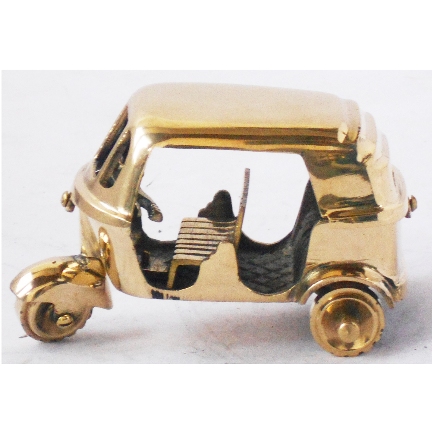 Brass Auto Toy Miniature For Children Playing- 533 inch Z349 C