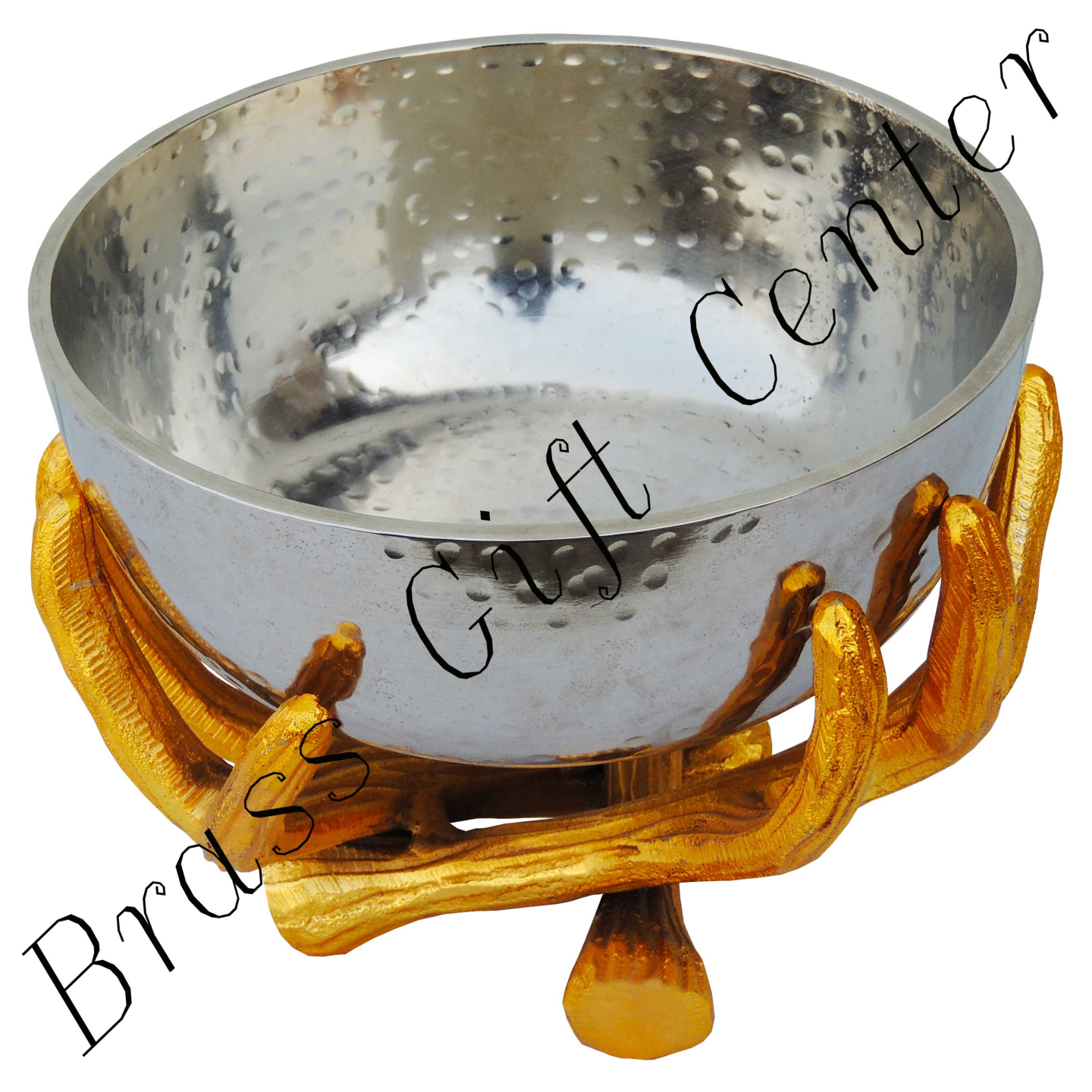 Decorative Panja Shape Bowl, Height 6.5 Inch A31929