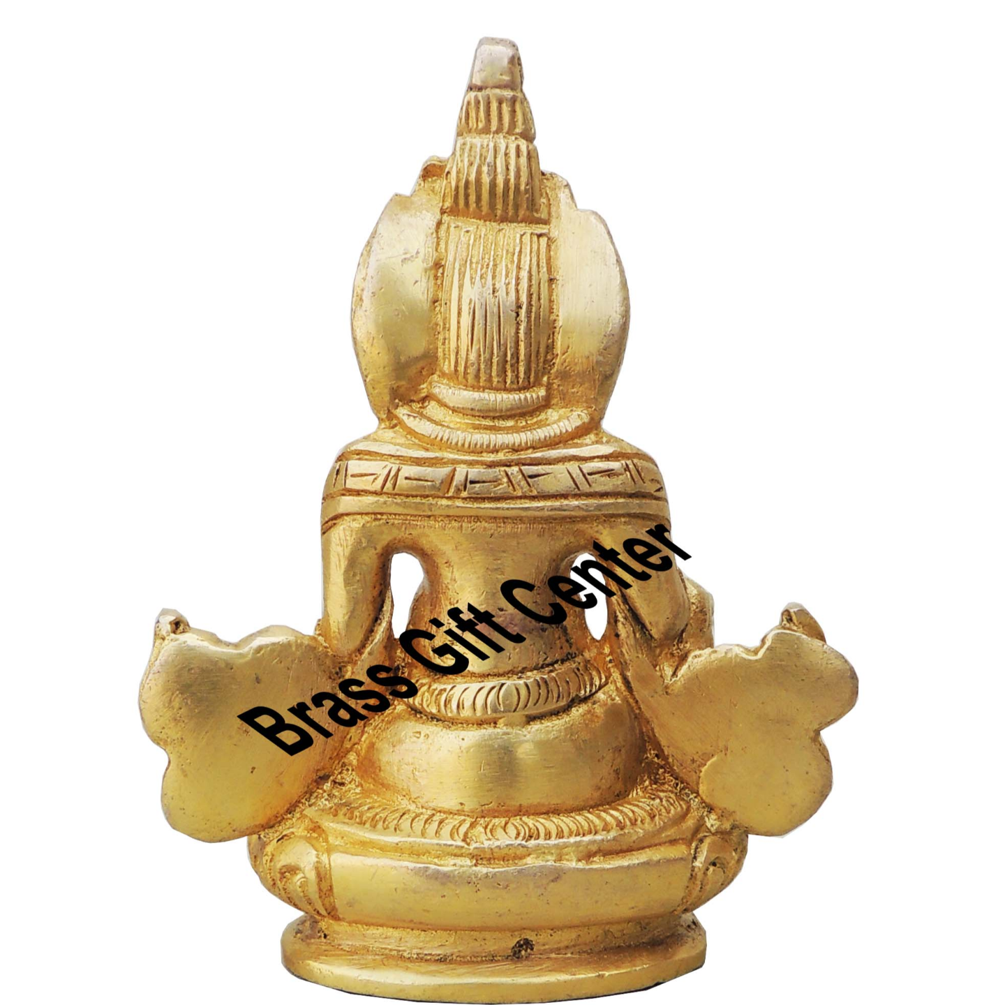 Brass Showpiece Kuber Mahaaraj Ji Idol With Brass Finish - Height 4.2 Inch Brass Showpiece Kuber Maharaj Ji Idol With Brass Finish - Height 18 cm