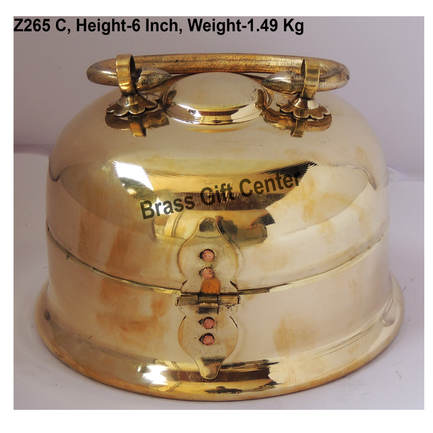 Pure Brass Pan Dan Mughal Lucknow Design- 7*7*6 inch  (Z265 C)