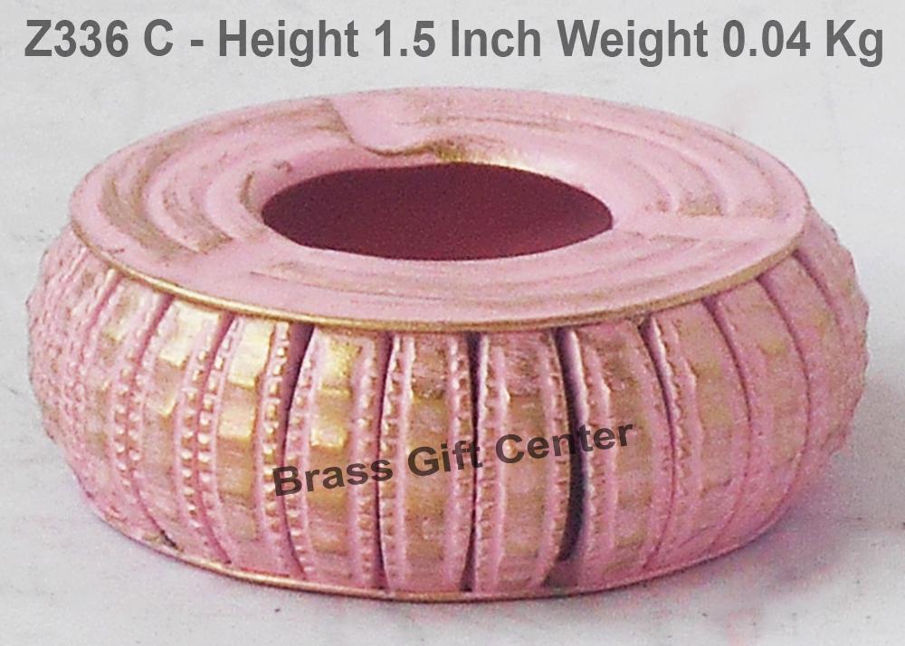 Iron Ash Tray - 3*3*1.5 Inch  (Z336 C)