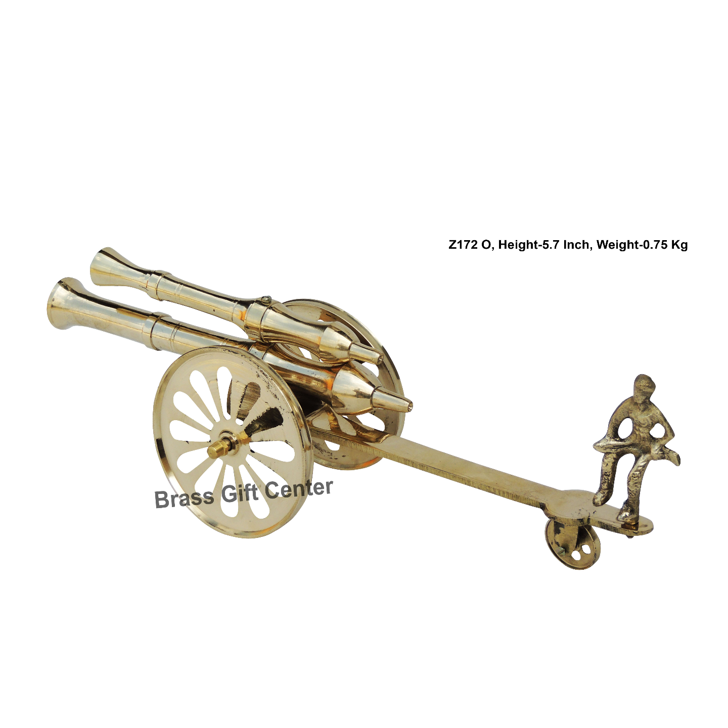 Brass Small Toop Cannon No 16 - 154.25.7 inch  Z172 O
