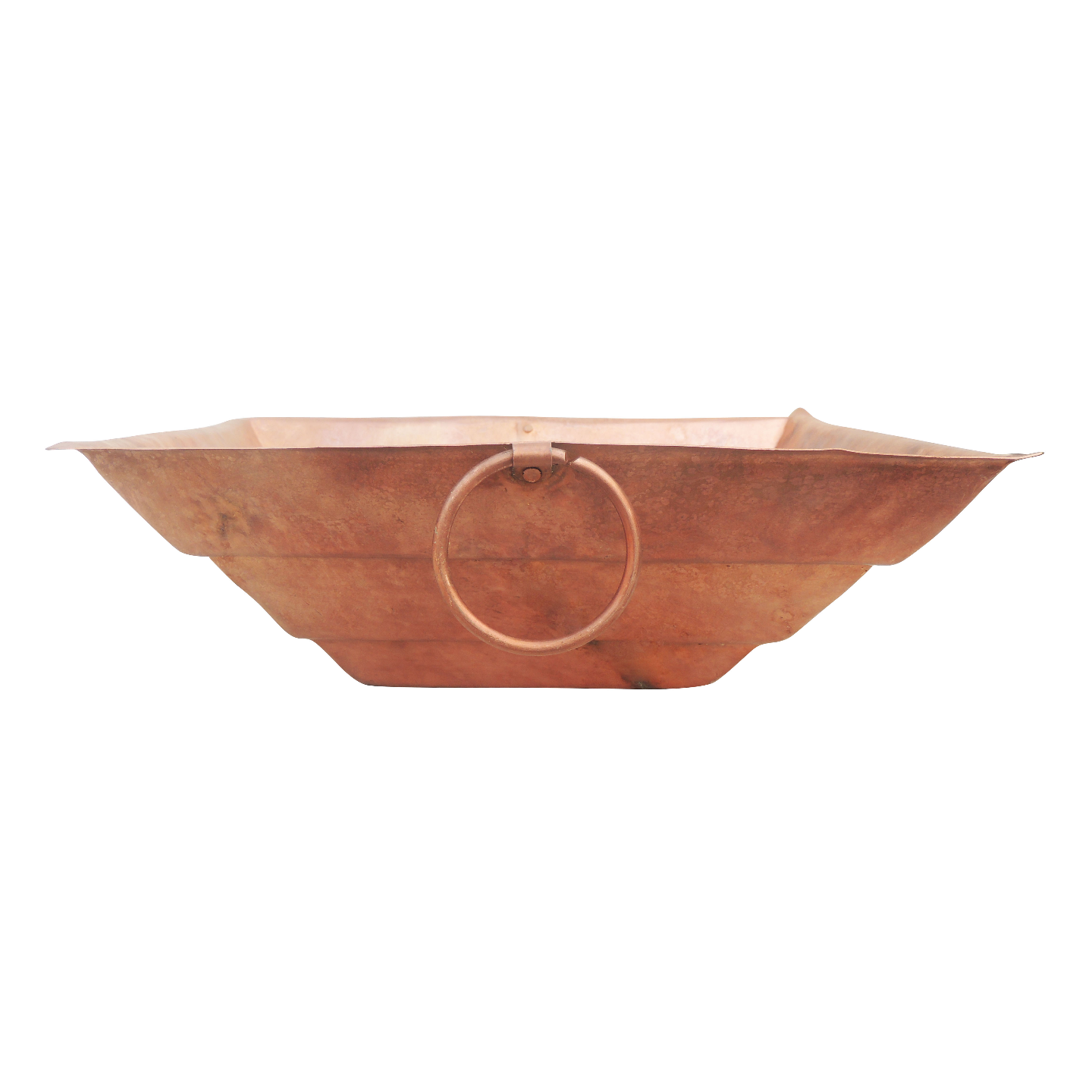 Copper Hawan Kund For Pooja Purpose No. 20 - 14 Inch (Z294 M)