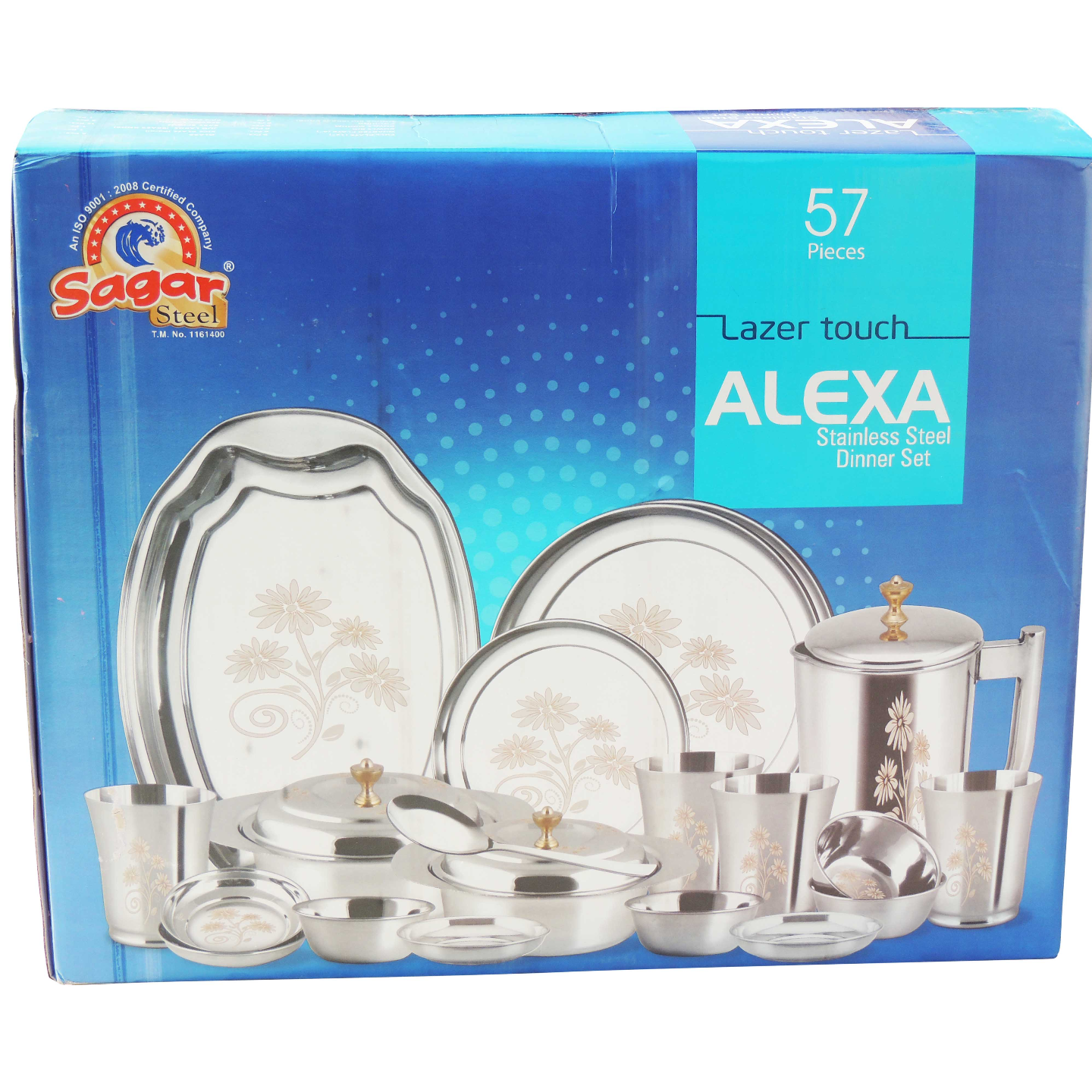Dinner Set Alexa Lazer Touch 57 pcs S063 E