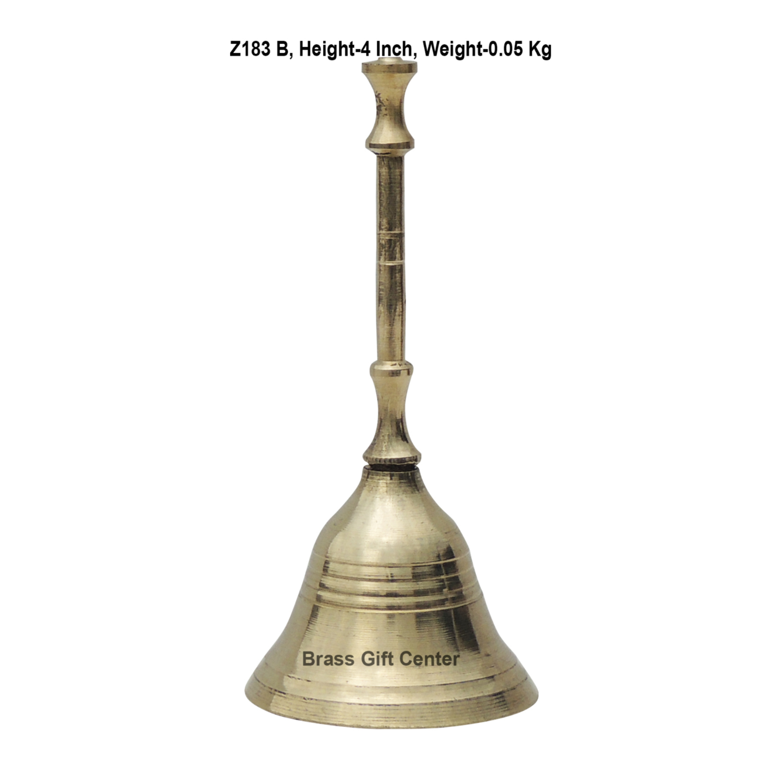 Brass Gol Dandi Ganti No. 1 - 4 inch (Z183 B)