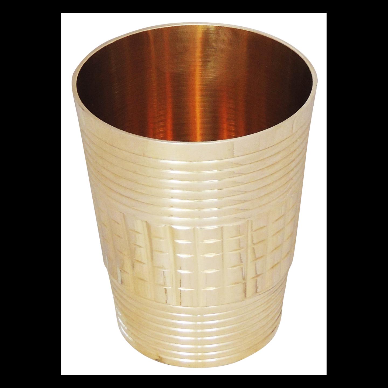 Brass Glass 270 ml -  2.52.53.4 Inch  Z289 C