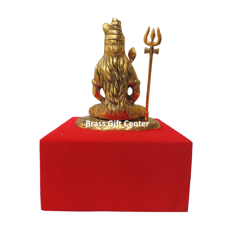 Showpiece Shiv Ji Statue - 9.8 Inch AS363 G