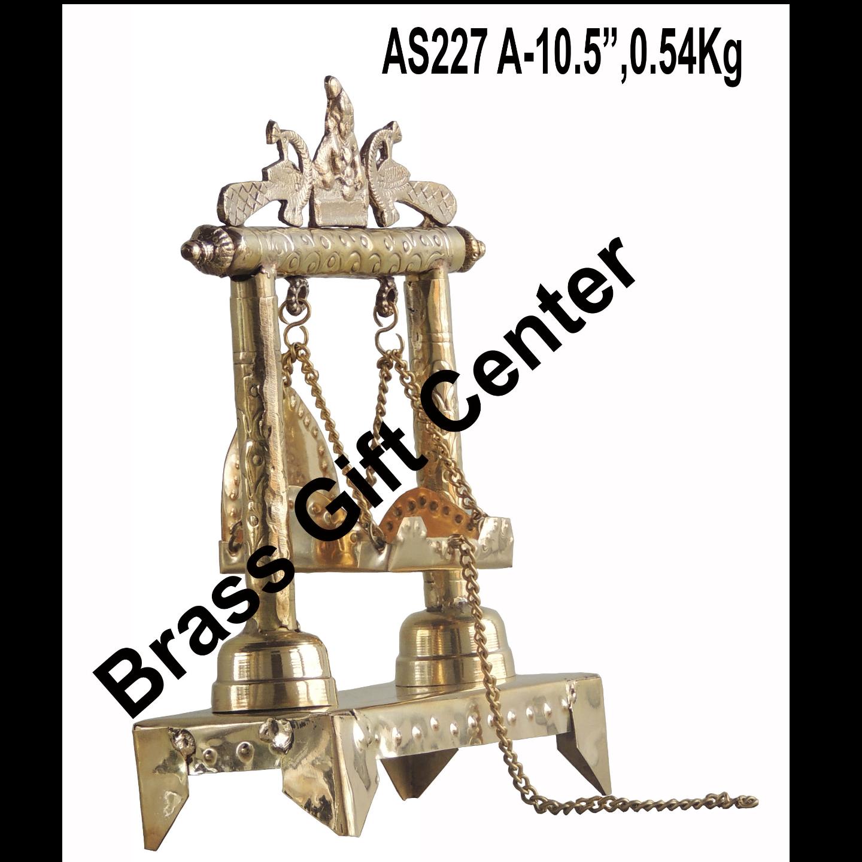 Brass Laddu Gopal Jhula - 8.33.510.5 inch  AS227 A
