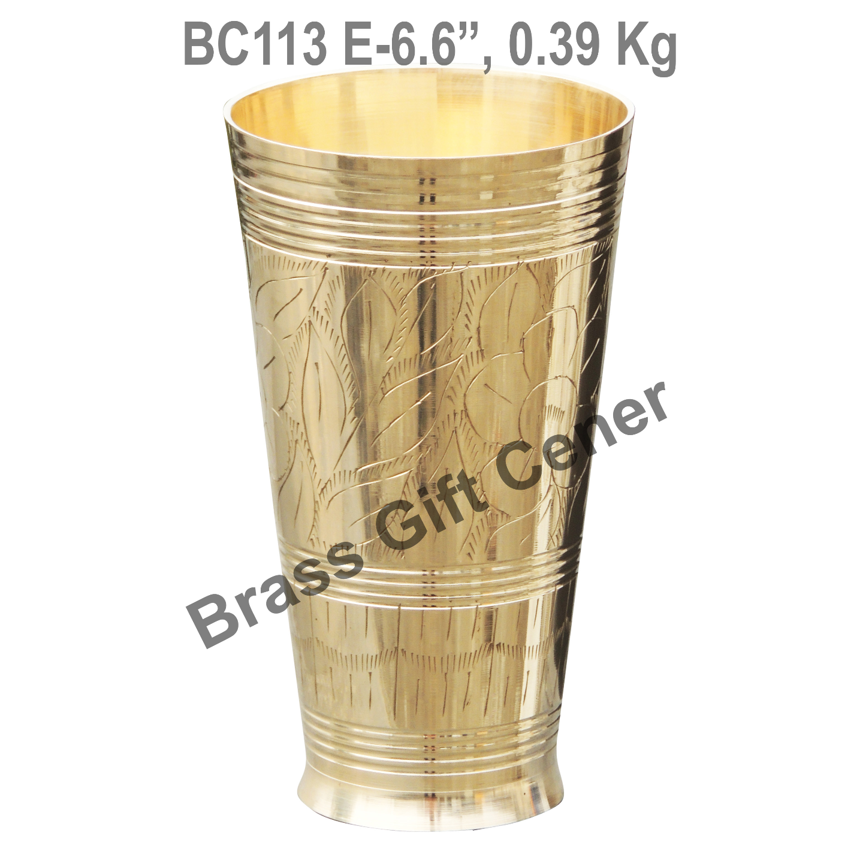 Lassi Glass Brass - 700 ml BC113 E