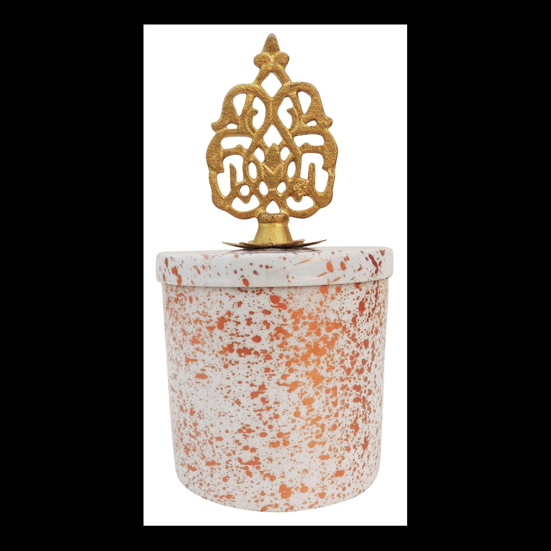 Iron Decorative Candy Box For Diwali Gift - 7.5 Inch (I137 B
