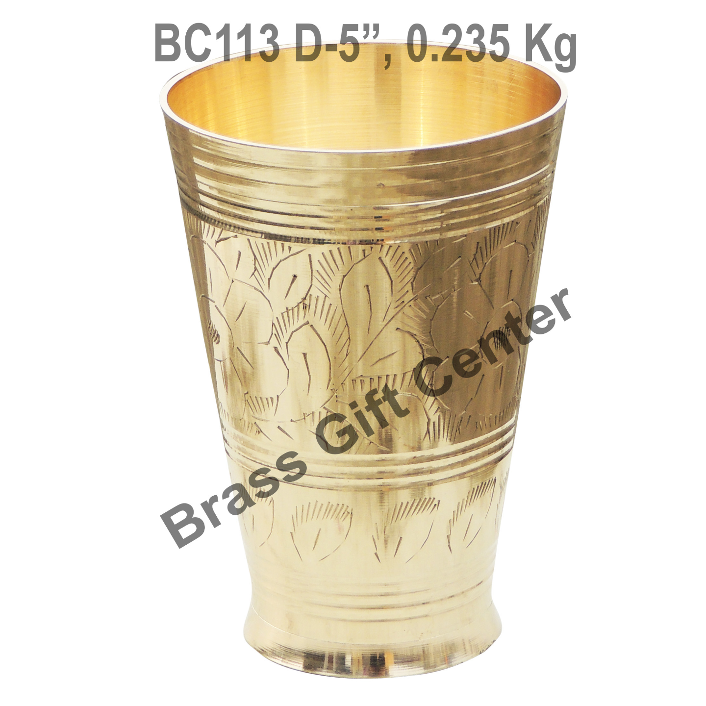 Lassi Glass Brass - 450 ml BC113 D