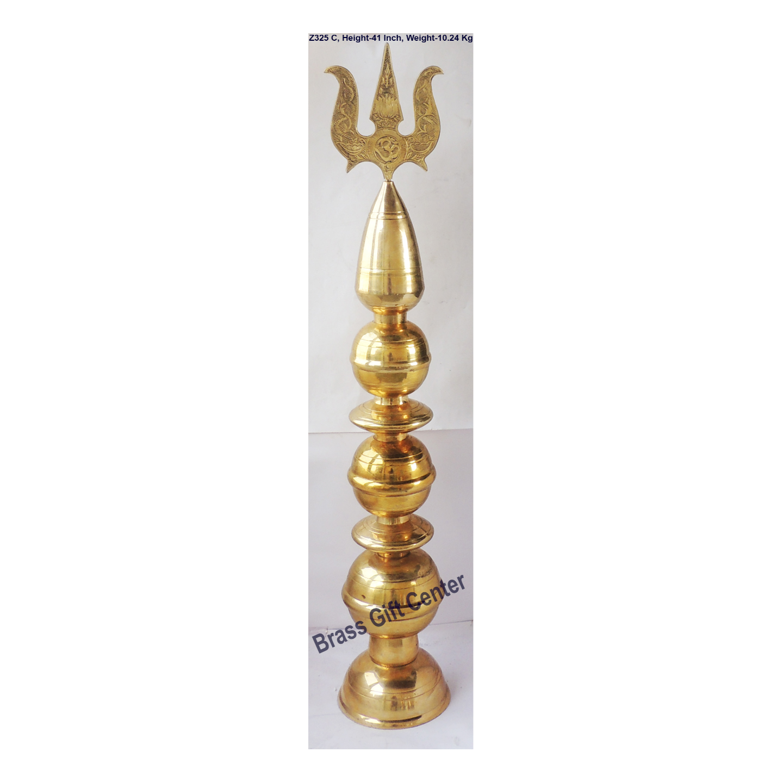 Brass Mandir Kalash 10.2 KG - 41 Inch  Z325 C